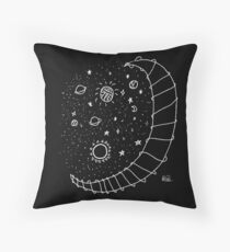Aesthetic Moon Throw Pillow