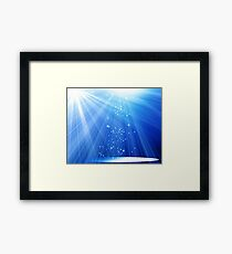 Spotlight Stage Framed Print