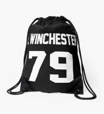 Supernatural Jersey (Dean Winchester) Drawstring Bag