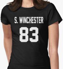 Supernatural Jersey (Sam Winchester) Women's Fitted T-Shirt