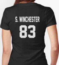 Supernatural Jersey (Sam Winchester) Womens Fitted T-Shirt