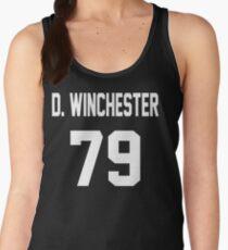 Supernatural Jersey (Dean Winchester) Women's Tank Top