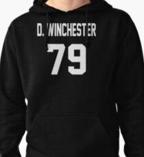 Supernatural Jersey (Dean Winchester) Pullover Hoodie