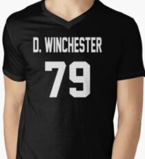 Supernatural Jersey (Dean Winchester) Men's V-Neck T-Shirt