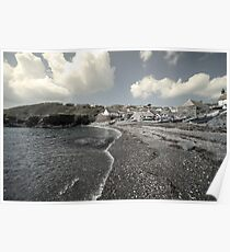Cadgwith Beach  Poster