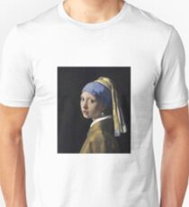 Johannes Vermeer - The Girl With A Pearl Earring Unisex T-Shirt