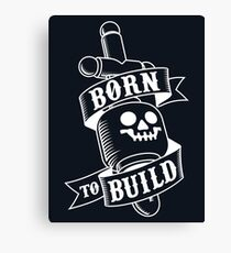 Master Builders only Canvas Print