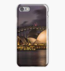 Sydney Opera at the Bridge iPhone Case/Skin