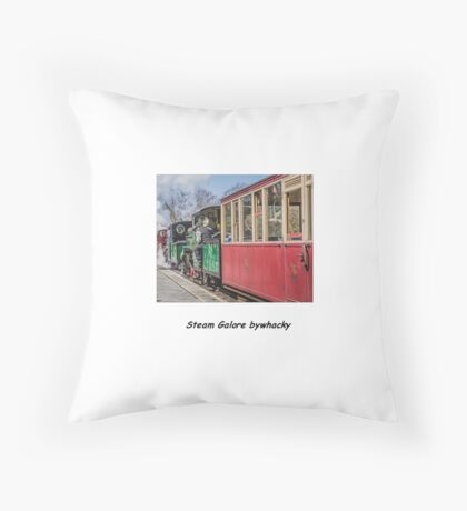 Steam Galore ! Throw Pillow