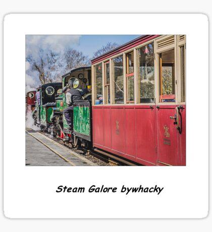 Steam Galore ! Sticker