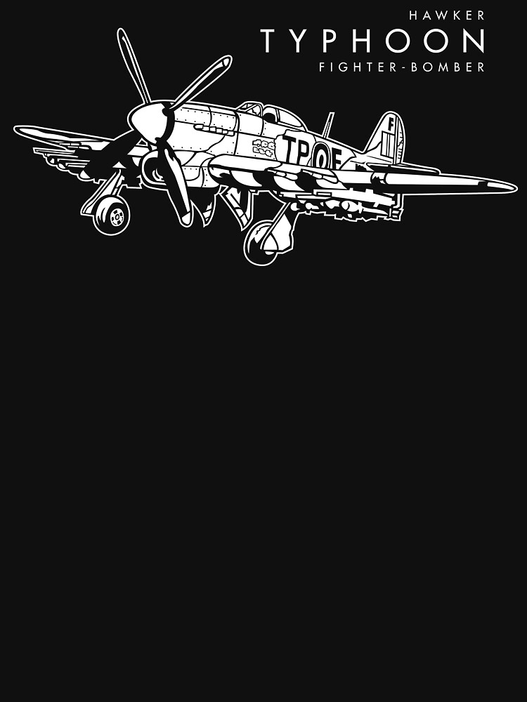 Hawker Typhoon Fighter-bomber by b24flak