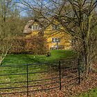 Pretty cottage in the Wormsley Valley, Oxfordshire. by Robertsphotos