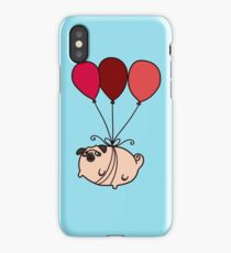 Balloon Pug iPhone Case/Skin