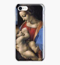 Leonardo Da Vinci - Madonna Litta Madonna And The Child iPhone Case/Skin