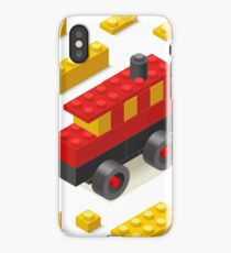 Toy Block Bus Games Isometric iPhone Case/Skin