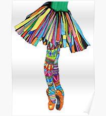 Happy Ballerina Poster