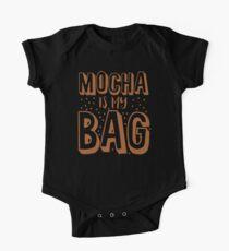 MOCHA IS MY BAG One Piece - Short Sleeve