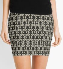 221B Wallpaper Mini Skirt