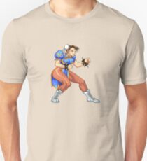 Chun-Li Zang - chinese fighter T-Shirt