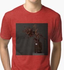 Autumn Bottle and Twigs Full Tri-blend T-Shirt