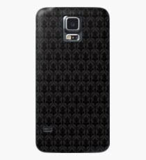 221B Wallpaper Black Case/Skin for Samsung Galaxy