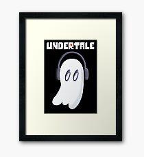 Booo - Undertale Framed Print