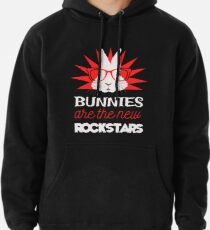 Bunnies are the new rockstars Hoodie