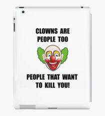 Clown Kill iPad Case/Skin