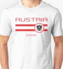 Euro 2016 Football - Austria (Away White) Unisex T-Shirt