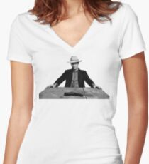 Justified - tv series Women's Fitted V-Neck T-Shirt