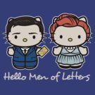 Men of letters by Fanboy30