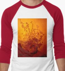 Golden flowers Men's Baseball ¾ T-Shirt