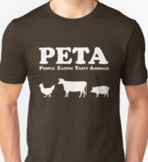 PETA People Eating Tasty Animals Unisex T-Shirt