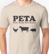 PETA People Eating Tasty Animals Unisex T-Shirt