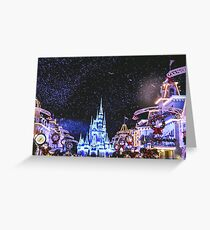Christmas on Main Street Greeting Card