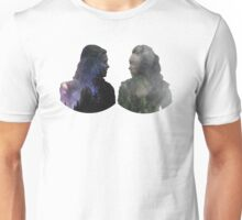 Clexa - The 100 - Face to Face Unisex T-Shirt
