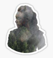 Lexa - The 100 Sticker
