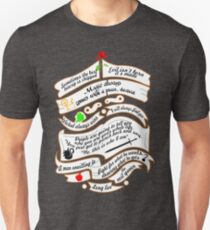 Quotes. Unisex T-Shirt