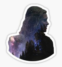 Clarke - The 100 Sticker