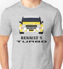 Renault 5 Turbo Unisex T-Shirt