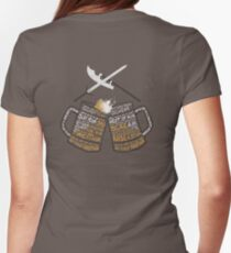 Galavant - Secret Mission Womens Fitted T-Shirt