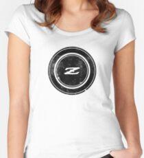 Datsun 240Z Emblem Tailliertes Rundhals-Shirt