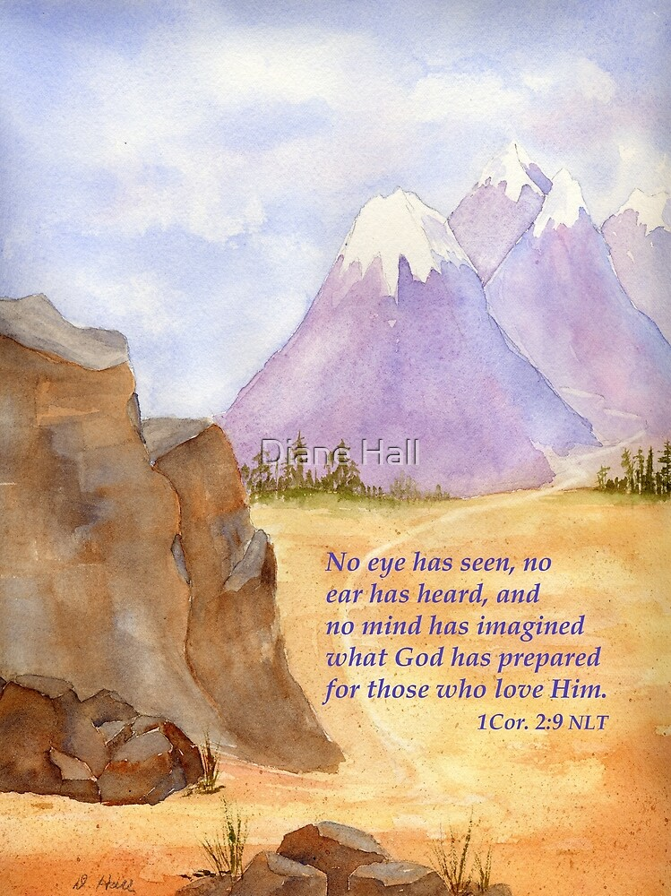 Amazing Hope!  1 Cor. 2:9 by Diane Hall