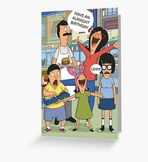 Tv greeting cards redbubble belcher birthday card greeting card bookmarktalkfo Images