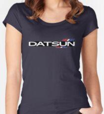 Datsun 510 Emblem Women's Fitted Scoop T-Shirt