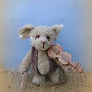 Handmade bears from Teddy Bear Orphans - Madrigal Mouse by Penny Bonser