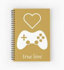 Video Gamer - True Love Spiral Notebook