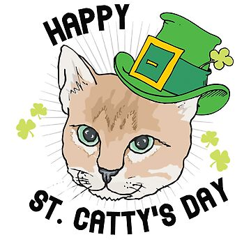 Happy St. Catty's day by mbsgraphics