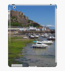Mont Orgueil, Gorey, Jersey iPad Case/Skin