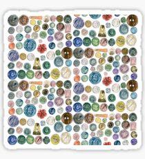 Buttons buttons buttons Sticker